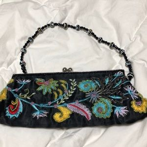 Chateau embroiled/beaded bag